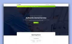 free bootstrap medical template