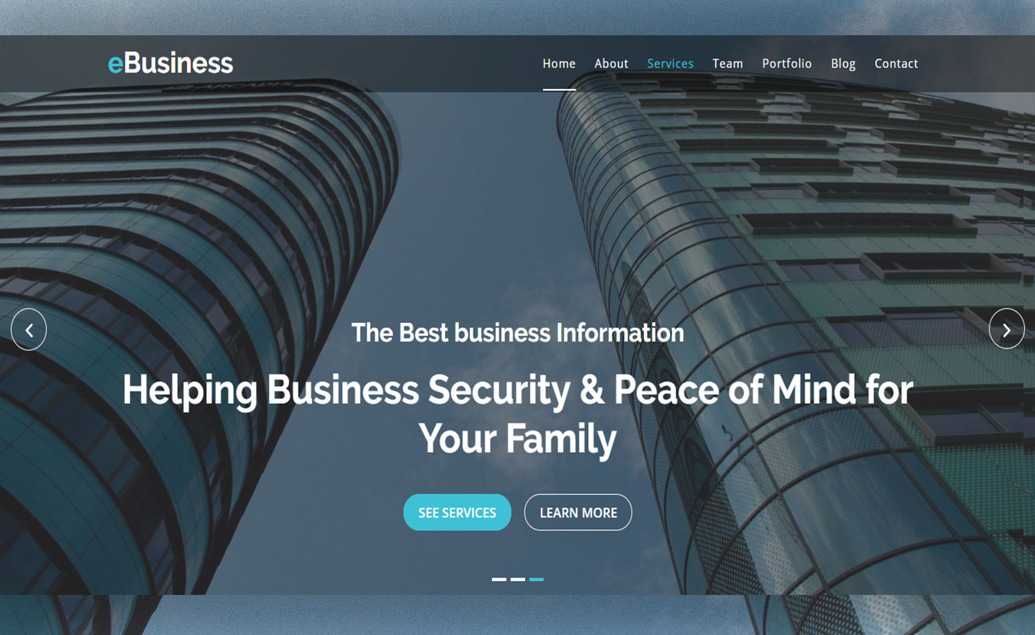 Multipurpose Business Corporate Website Template