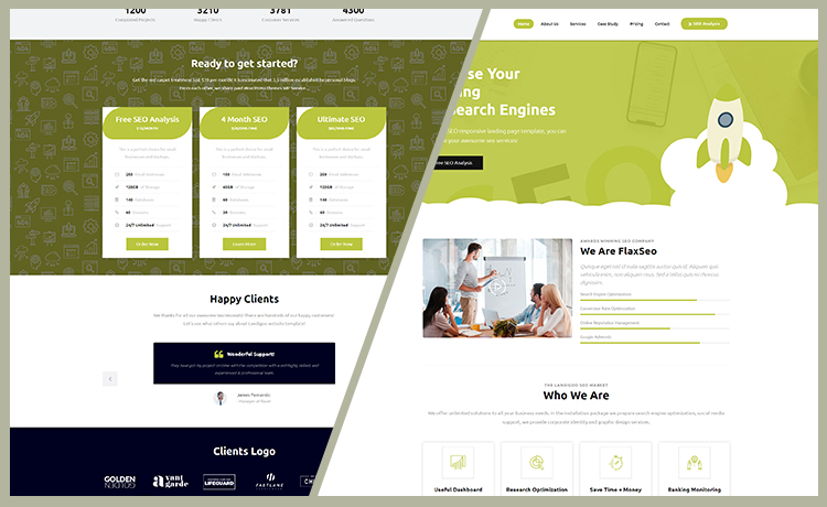 Free SEO Website Template