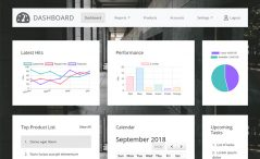 Free HTML5 Admin Dashboard Template
