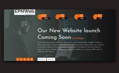 Free Coming Soon Website Template