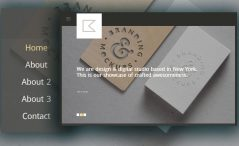 Free Creative Portfolio Website Template