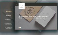 Free Creative Portfolio Website Template