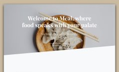 free HTML5 responsive restaurant template