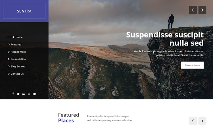 Free Responsive Agency Template