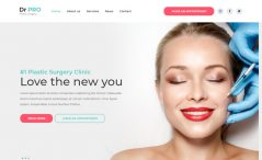 free bootstrap plastic surgery website template