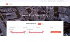 free bootstrap html 5 real estate business website template
