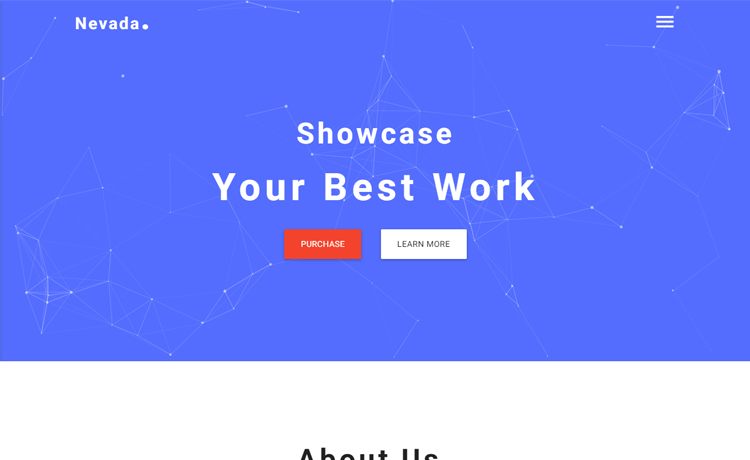Free HTML5 creative agency website template