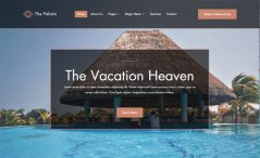 The Palatin is a free Bootstrap based hotel booking website template
