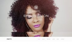 free bootstrap HTML 5 beauty salon website template