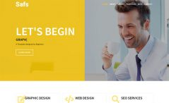 one-page free bootstrap 4 html5 personal portfolio website template for web developer