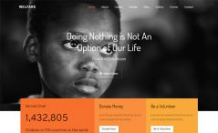 Free Bootstrap 4 HTML5 NGO website template