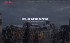 Free Bootstrap HTML5 one-page business website template