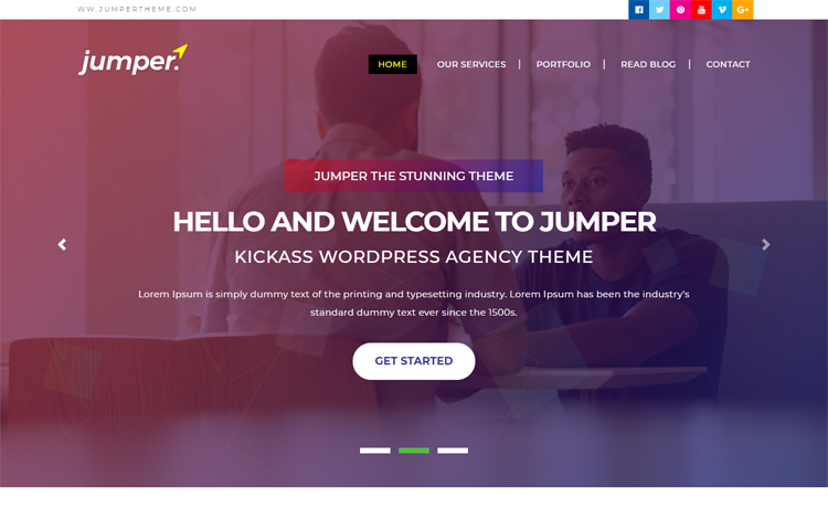 Free Bootstrap 4 HTML5 multi-page agency personal portfolio website template