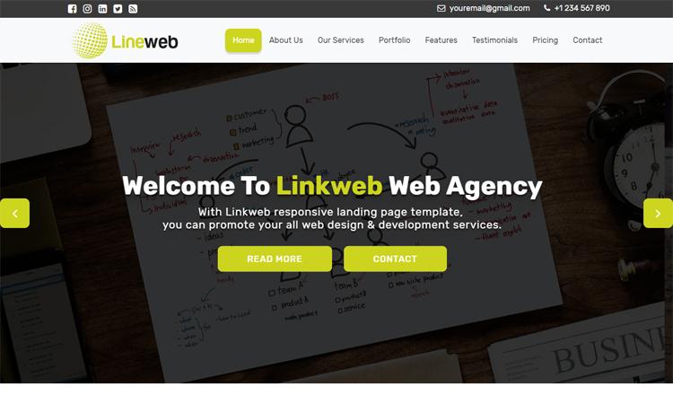 Linkweb free bootstrap 4 html5 professional business website template free bootstrap 4 html5 professional business website template accmission Images