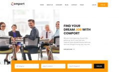 Free Bootstrap 4 HTML5 job board template