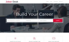 Free Bootstrap HTML5 job board template