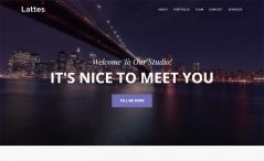 Free HTML5 agency website template
