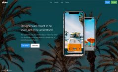 Free HTML5 landing page template for apps