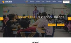 Free HTML5 education website template