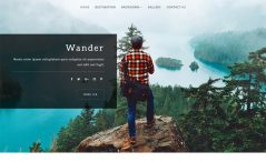 Free HTML5 Bootstrap 4 Travel Blog Template