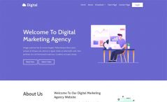 Free Bootstrap 4 Business Website Template