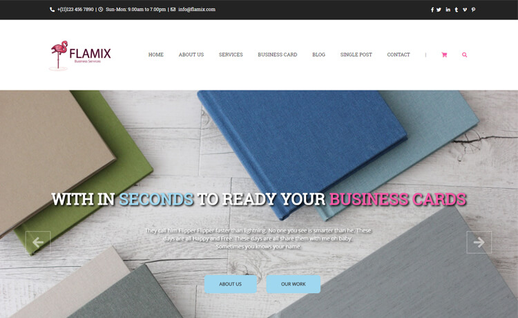 Free HTML5 Bootstrap 4 Businesses Website Template