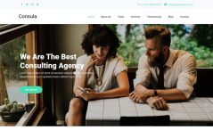Free Bootstrap 4 HTML5 One-Page Business Website Template