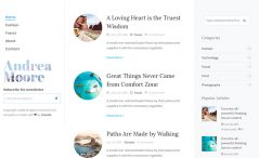Free Bootstrap 4 HTML5 Blog Website Template